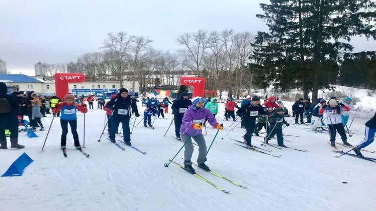 В Перми прошёл благотворительный лыжный забег