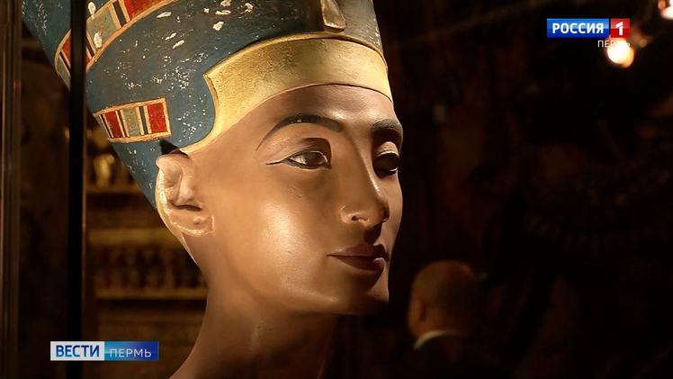 В Центральный выставочный зал привезли сокровища Египта