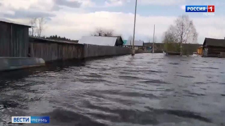Хроника паводка в Прикамье
