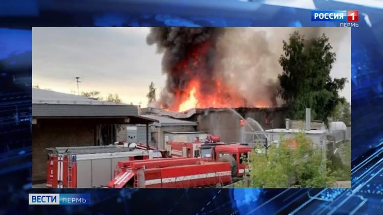 Пожар в Краснокамске тушили 6 часов