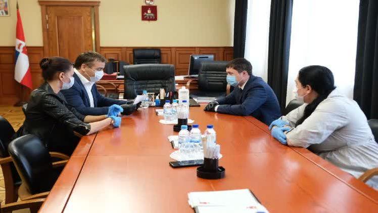 Дмитрий Махонин и Альберт Демченко провели рабочую встречу