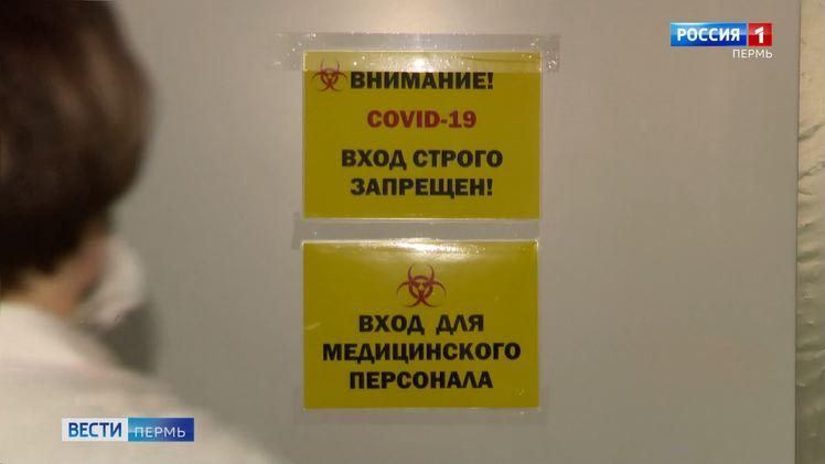 В Пермском крае выявлено 53 новых случая заражения COVID-19