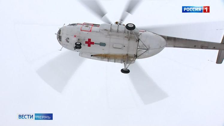 Санавиация Пермского края совершила в этом году 100-й вылет