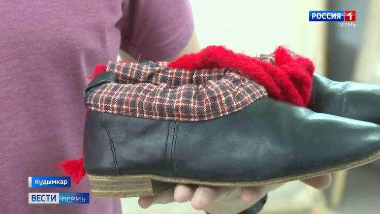 Уникальная обувь: коми-пермяцкие коты