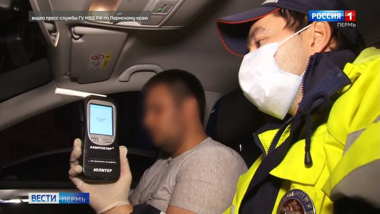 В Перми за выходные госавтоинспекторы выявили 25 нетрезвых водителей