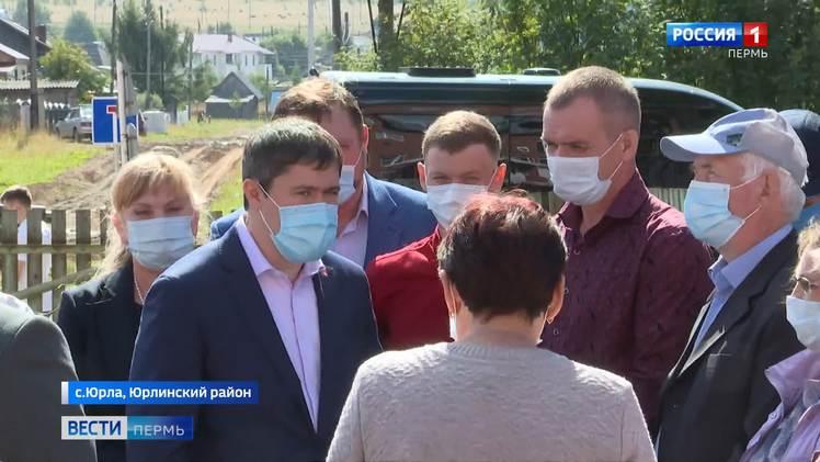 Дмитрий Махонин совершил рабочую поездку в Коми-Пермяцкий округ