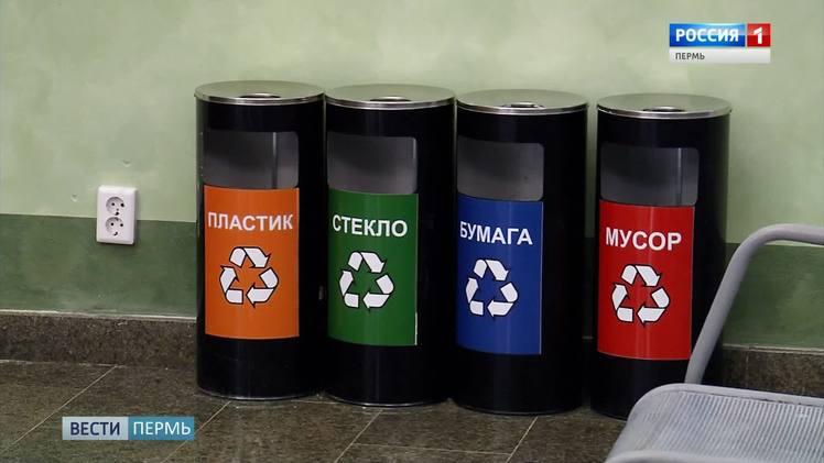 В Перми поставят контейнеры для раздельного сбора мусора