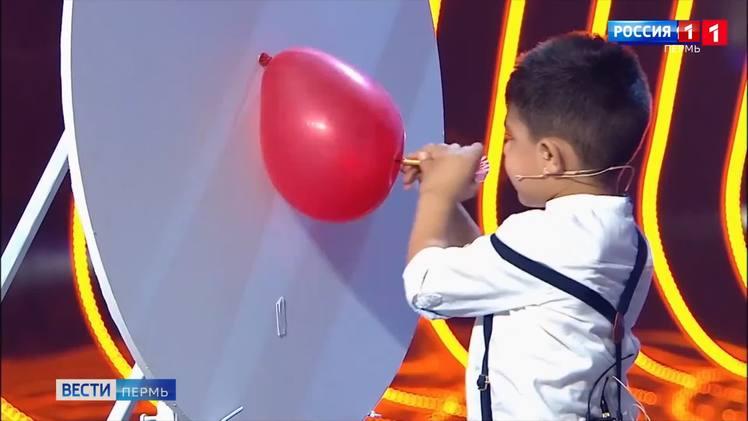 4-летний пермяк принял участие в шоу «Удивительные люди»