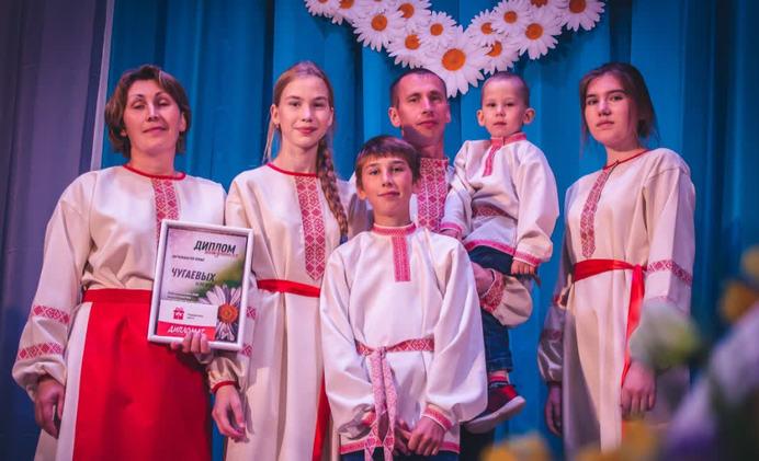 Многодетная семья из Кувы победила во Всероссийском конкурсе «Семья года»