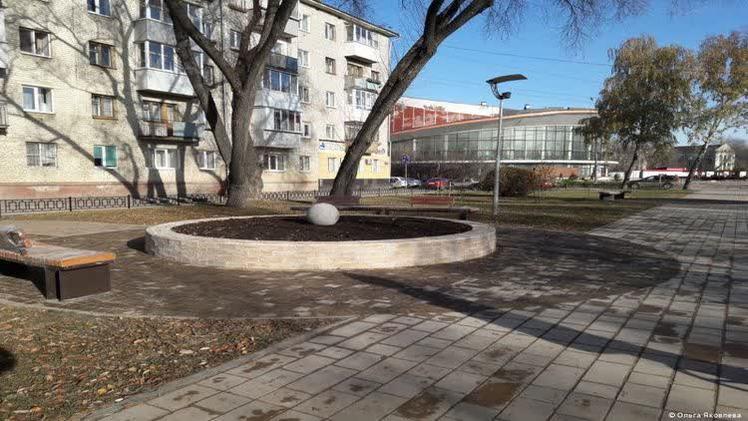 В Перми отремонтирован сквер возле планетария