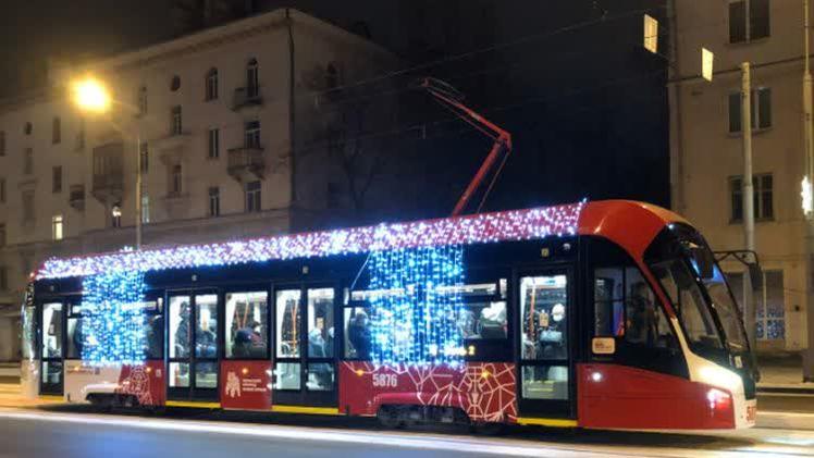 В новогодние праздники общественный транспорт Перми будет работать по расписанию выходного дня