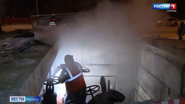 Энергетики восстановили теплоснабжение на Гайве