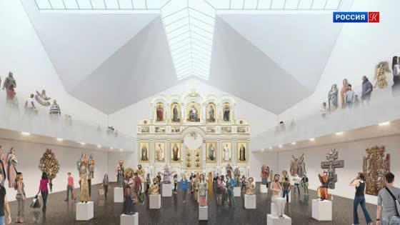 Минстрой пояснил причины продления конкурса на строительство нового здания галереи