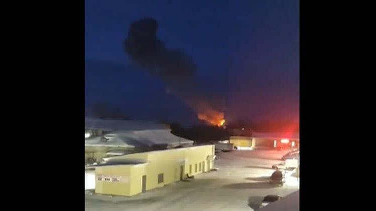 Пожар на Пермском пороховом заводе: пострадали три человека