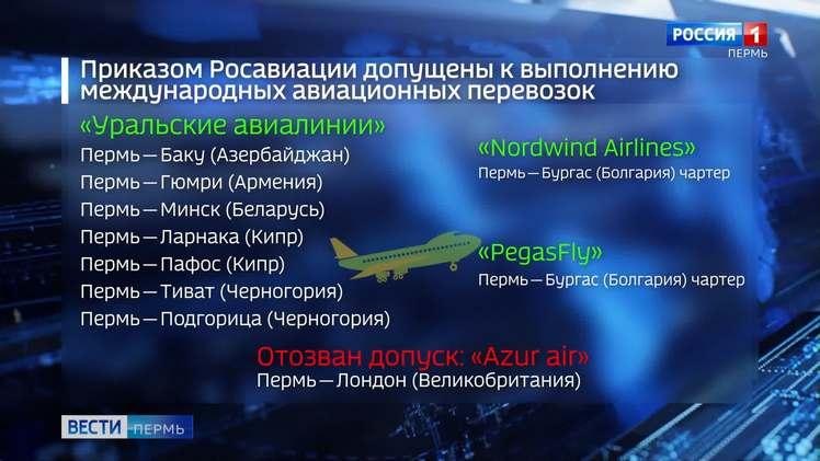 Росавиация опубликовала новый приказ о допуске перевозчиков к международным рейсам