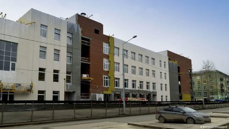 В Перми завершается строительство нового корпуса школы №93