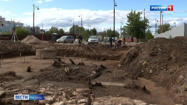 Сотрудники Камской археологической экспедиции обнаружили фундаменты Первогорода