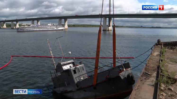 Операция по подъему затонувшего катера «Ласточка» пока не увенчалась успехом