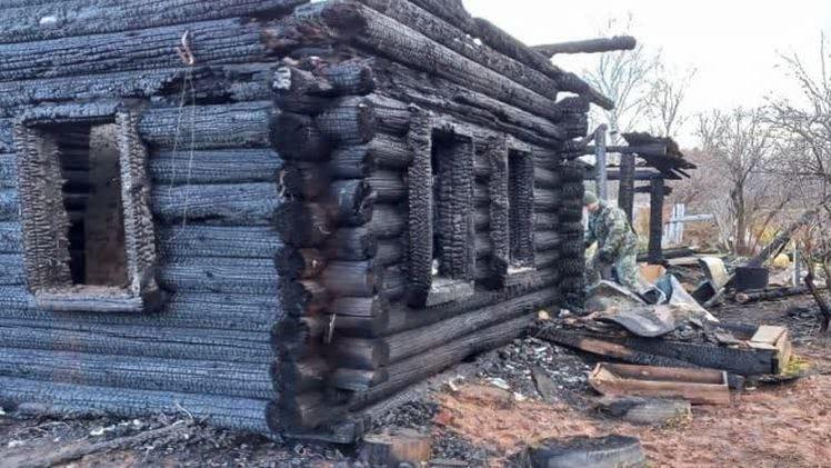 В посёлке Нижняя Талица на пожаре погибли двое маленьких детей