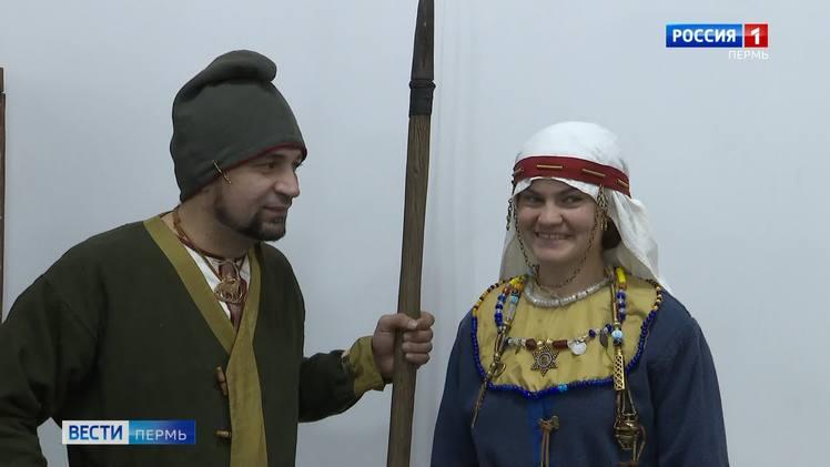 Наряд из шёлка и крапивы: в Кудымкаре восстановили костюмы жителей Средневековья