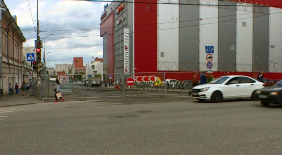 Автомобилистам. В центре Перми 20 июня перекроют оживленный перекресток