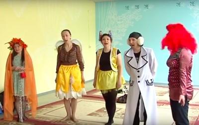 В детском саду Кудымкара поставили экологическую сказку