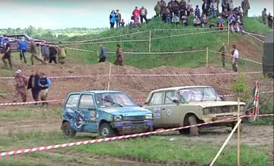 «Кудымкарский ухаб» собрал самых смелых водителей